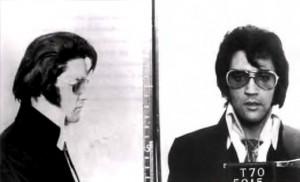 Elvis Presley mugshot