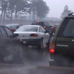 rain and traffic