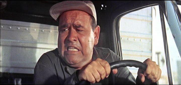 Funny truck driver Jonathon Winters