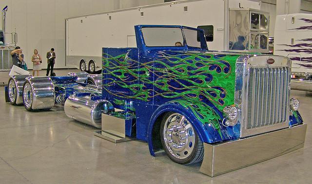 Low-Rider Semi Truck