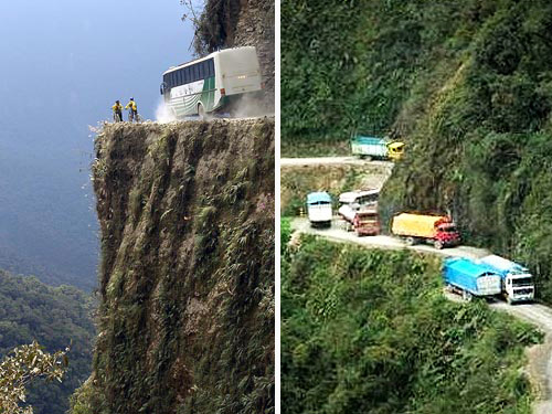 Bolivia-most-dangerous-road-in-the-world