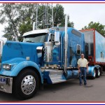 Nice semi truck