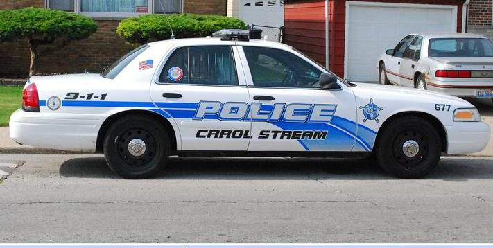 Carol Stream Police Car