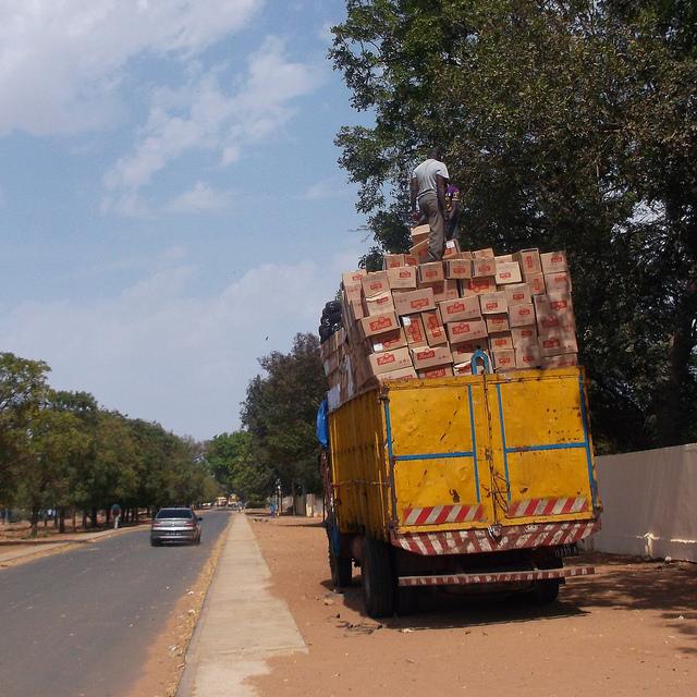 Crazy truck load