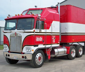 1984 Kenworth Aerodyne from BJ and the Bear