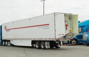 aerodynamic van trailer